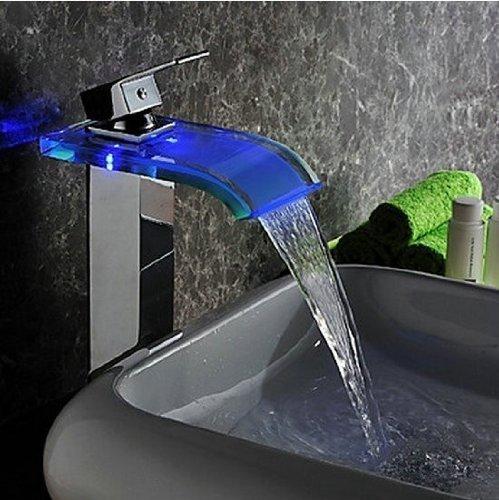 Oulantron Multifunction Waterfall Shelf Spout Bathtub Faucet Wall ...